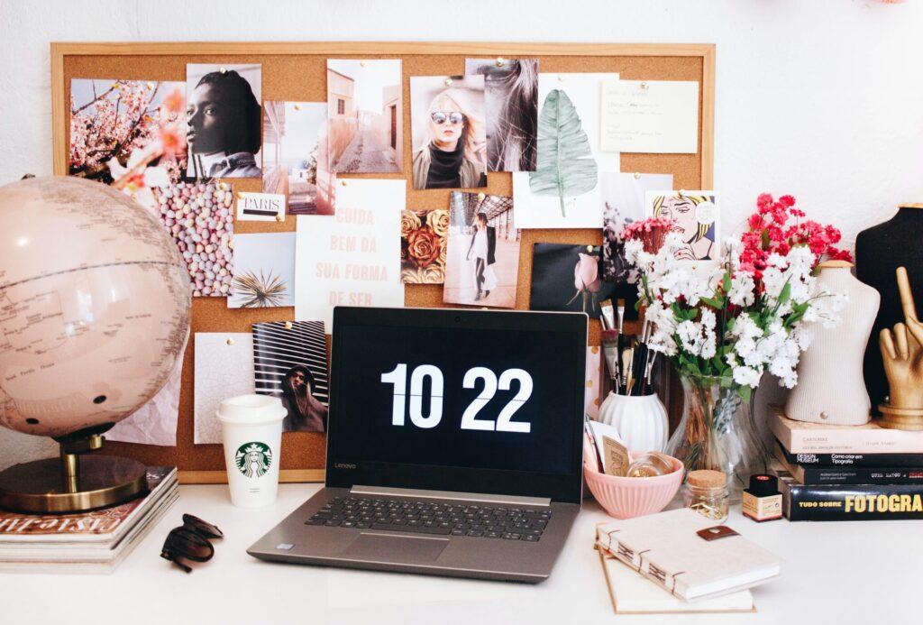 Desk of a digital creative